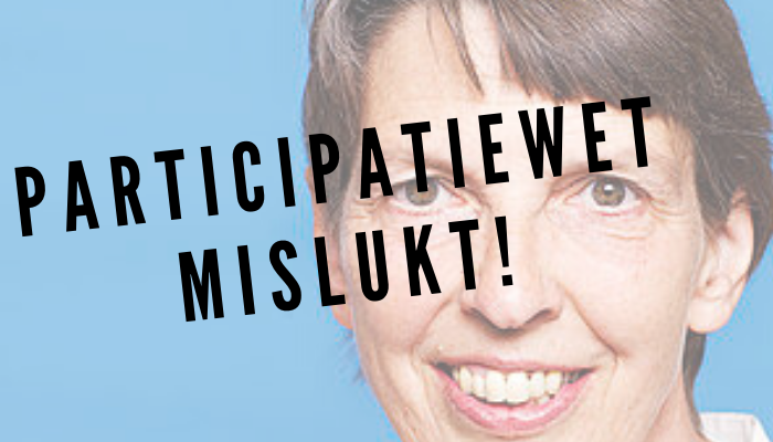 Participatiewet is mislukt