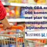 Ook plan CDA en D66 ter versoepeling van de bijstandsregels